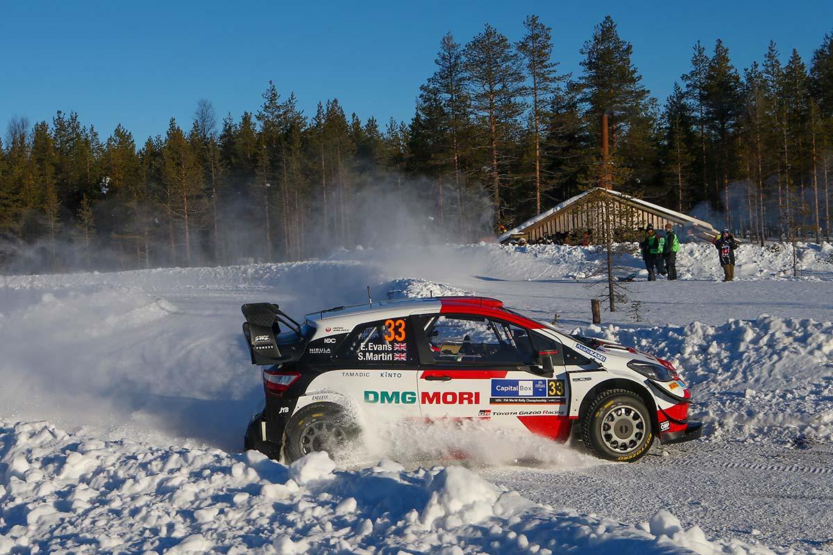 Arctic ralli eelviimasel katsel näitasid võimu Toyotad