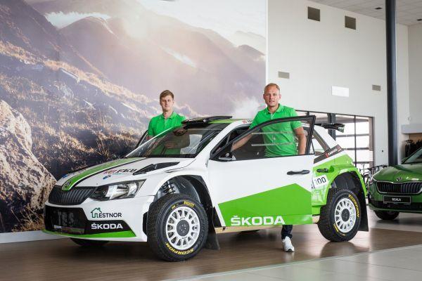 Aus ja Koskinen teevad Shell Helix Rally Estonial R5 autoga debüüdi