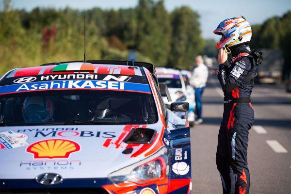 Breen võitis Rally Estonia üheksanda kiiruskatse, Hyundai-de kaksikedu suurenes