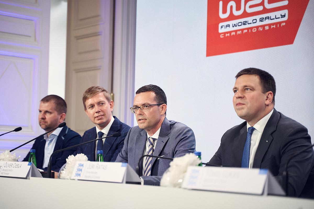 Eesti ja WRC promootor leppisid kokku autoralli maailmameistrivõistluste ametliku etapi korraldamises septembris