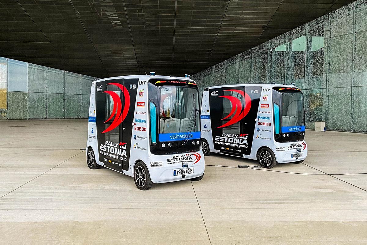 Eesti MM-ralli debüüdil kohtuvad maailma parimad sõitjad ning isejuhtivad bussid