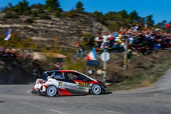 Hurrraa! Tänak tuli WRC sarja maailmameistriks