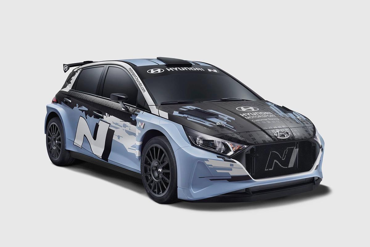 Hyundai näitas oma uut Rally2 klassi autot