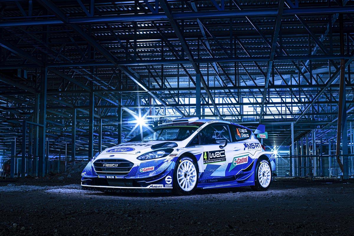 M-Sport näitas oma uue hooaja võistlusmasina kujundust (pildid)