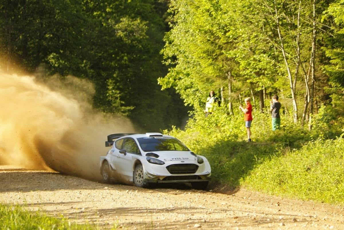 Markko Märtin stardib uuel Ford Fiesta WRC autol Shell Helix Rally Estonial