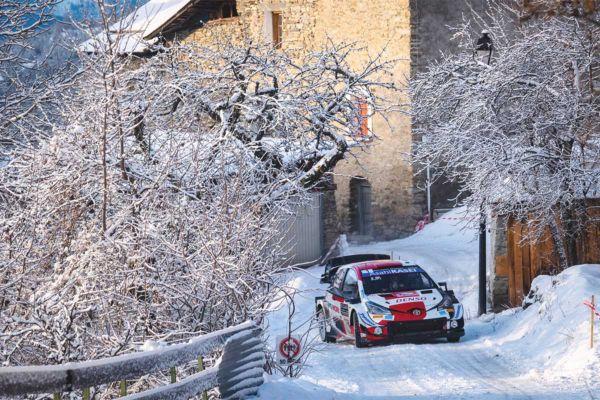 Monte Carlo ralli viimast päeva alustab liidrina Ogier