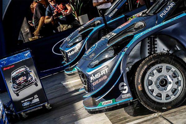Paddon stardib Soomes M-Sport WRC masina roolis