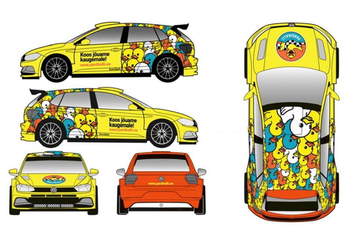 Pardiralli stardib Rally Estonial, roolis Karl ja Gustav Kruuda