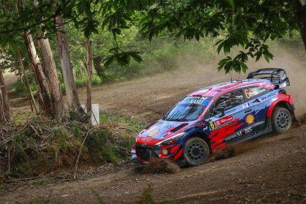 Portugali ralli teisel katsel kolm kiireimat Hyundaid, Sordole kiiruskatse võit