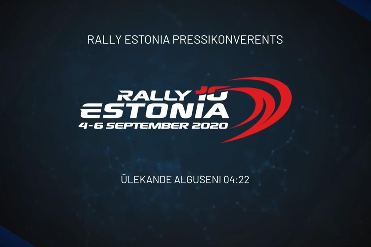 Rally Estonia 2020 pressikonverentsi otseülekanne - Eesti võistlejate esitlemine