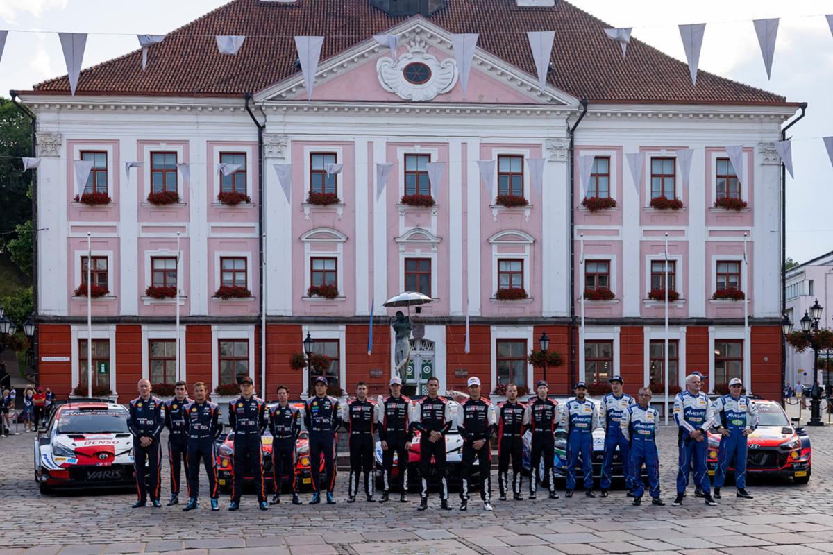 Rally Estonia jätkub reedel kaheksa kiiruskatsega