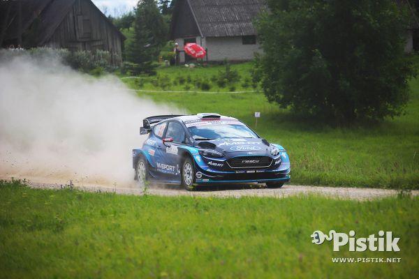 Rally Estonia kvalifikatsiooni kiireim oli Evans