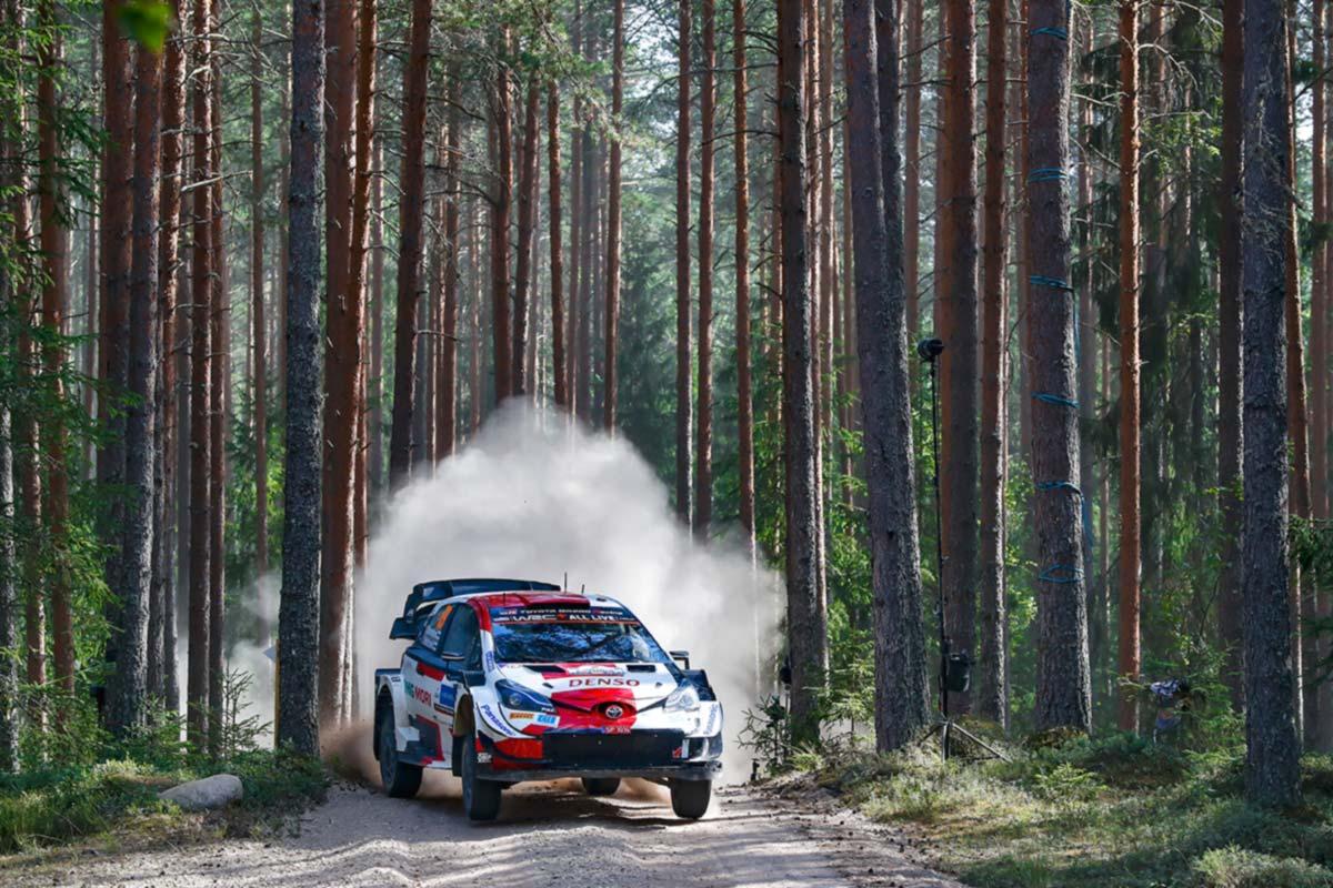 Rally Estonia laupäevase võistluspäeva lõpetas kindla liidrina Rovanperä