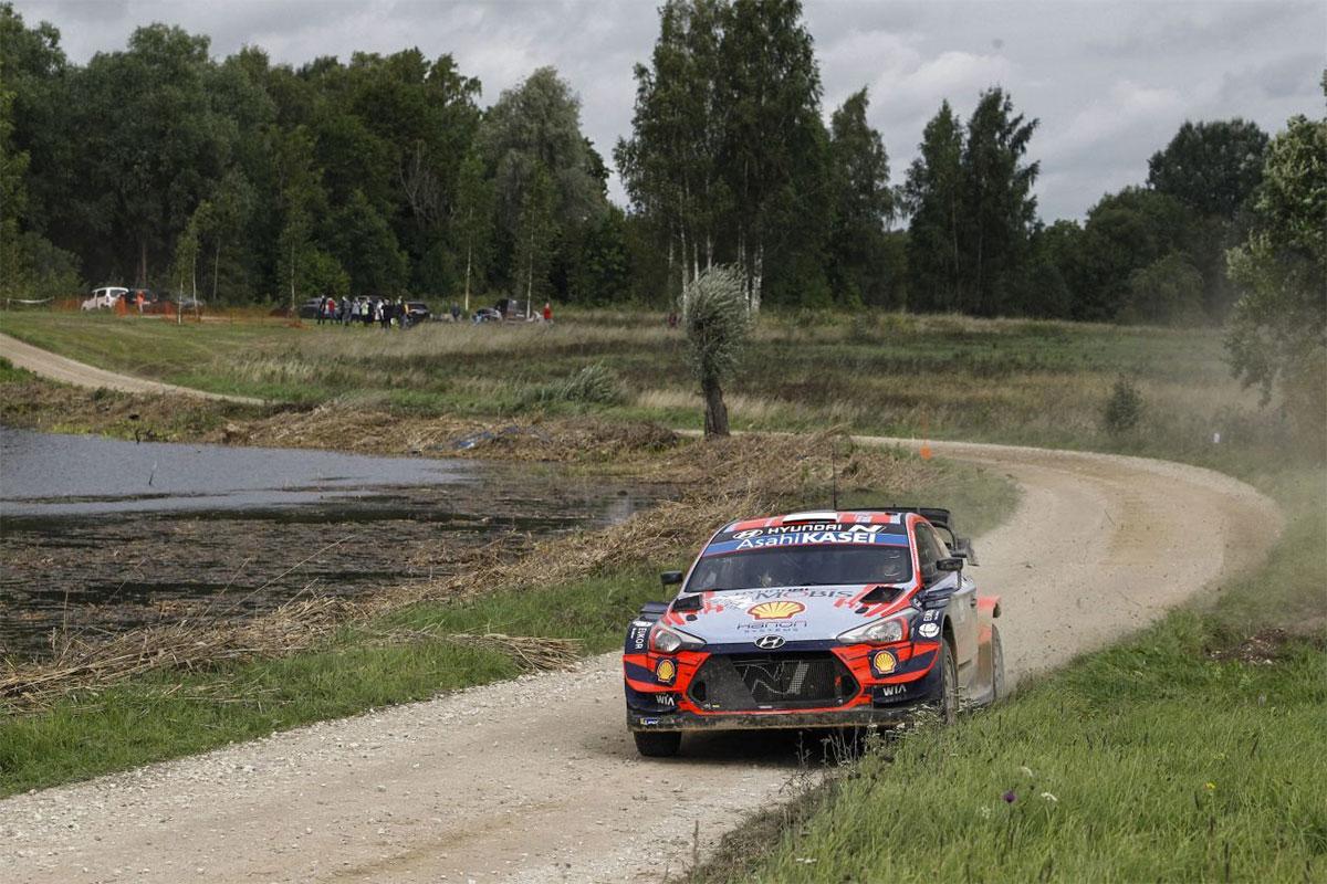 Rally Estonia liider kahe võistluspäeva järel on Tänak