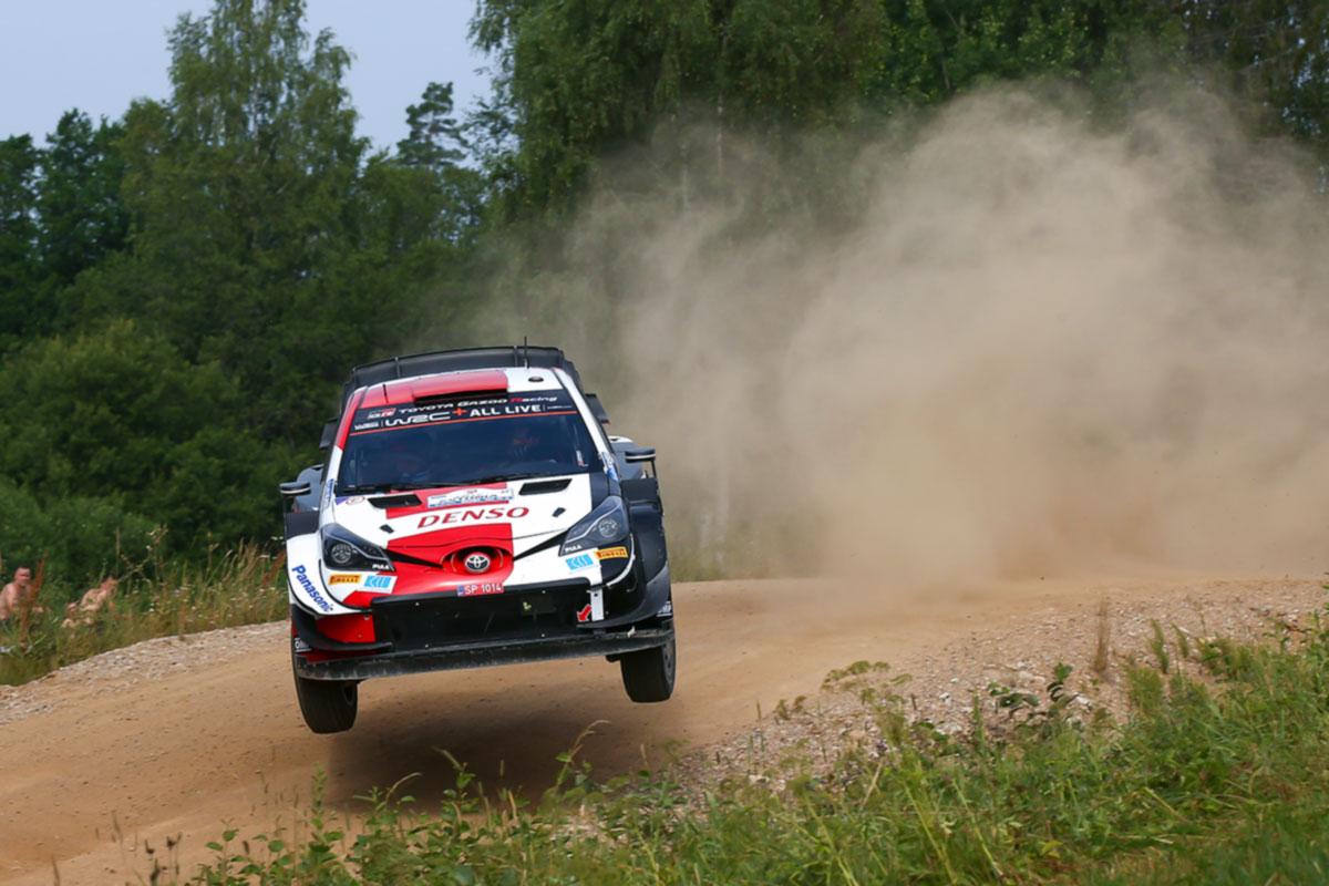 Rovanperä kasvatas Rally Estonia kuuendal katsel veelgi oma edu Breeni ees