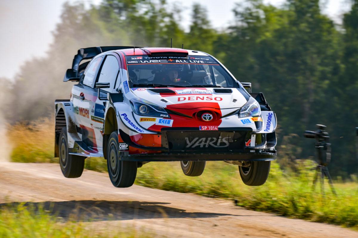 Rovanperä võitis ka viienda Rally Estonia kiiruskatse