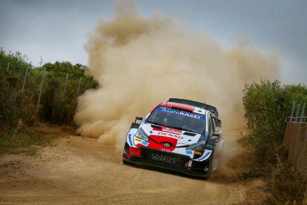 Sardiinia ralli eelviimasel katsel oli kiireim Evans, WRC2 klassis kasvab pinge