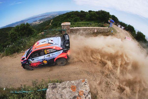 Sardiinia ralli reedese viimase kiiruskatse võit läks jälle Hyundai pilootidele, võidu jagasid Sordo ja Neuville