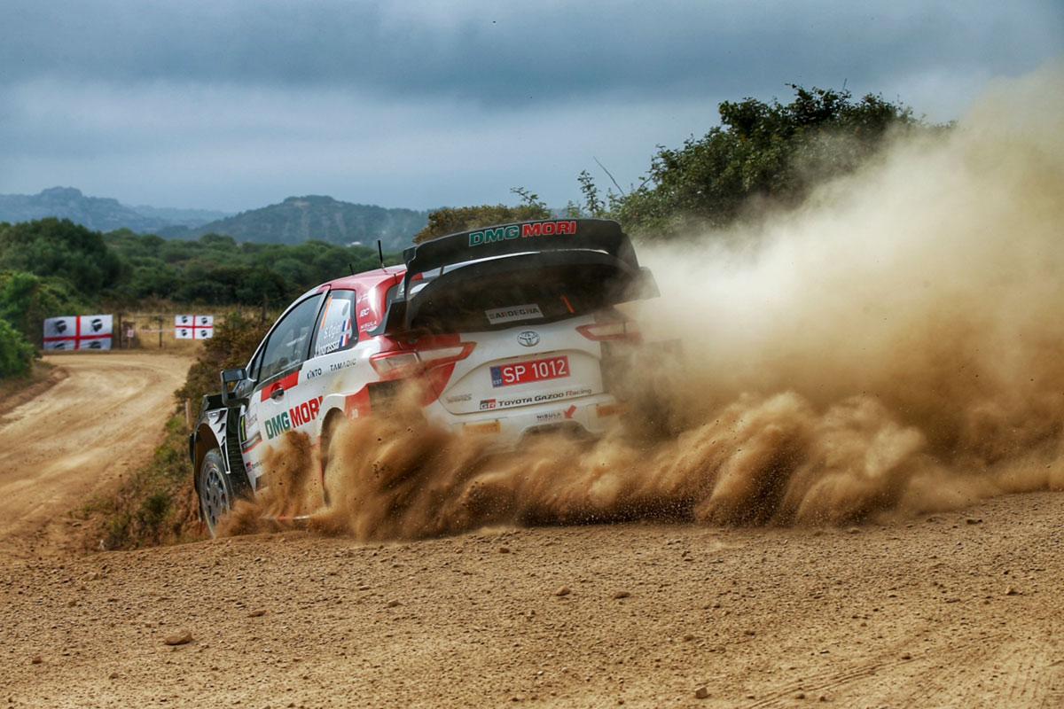 Sardiinia ralli võitis Ogier, punktikatsel parimad Hyundaid