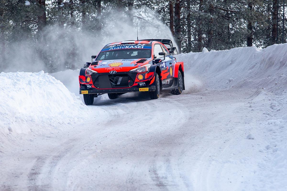 Soome Arctic ralli avakatselt Hyundaide kaksikvõit, Tänak kiireim