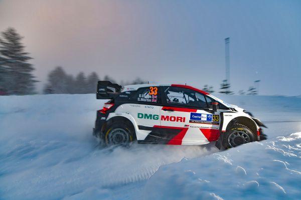 Soome Arctic ralli neljandal katsel näitas kiireimat minekut Evans