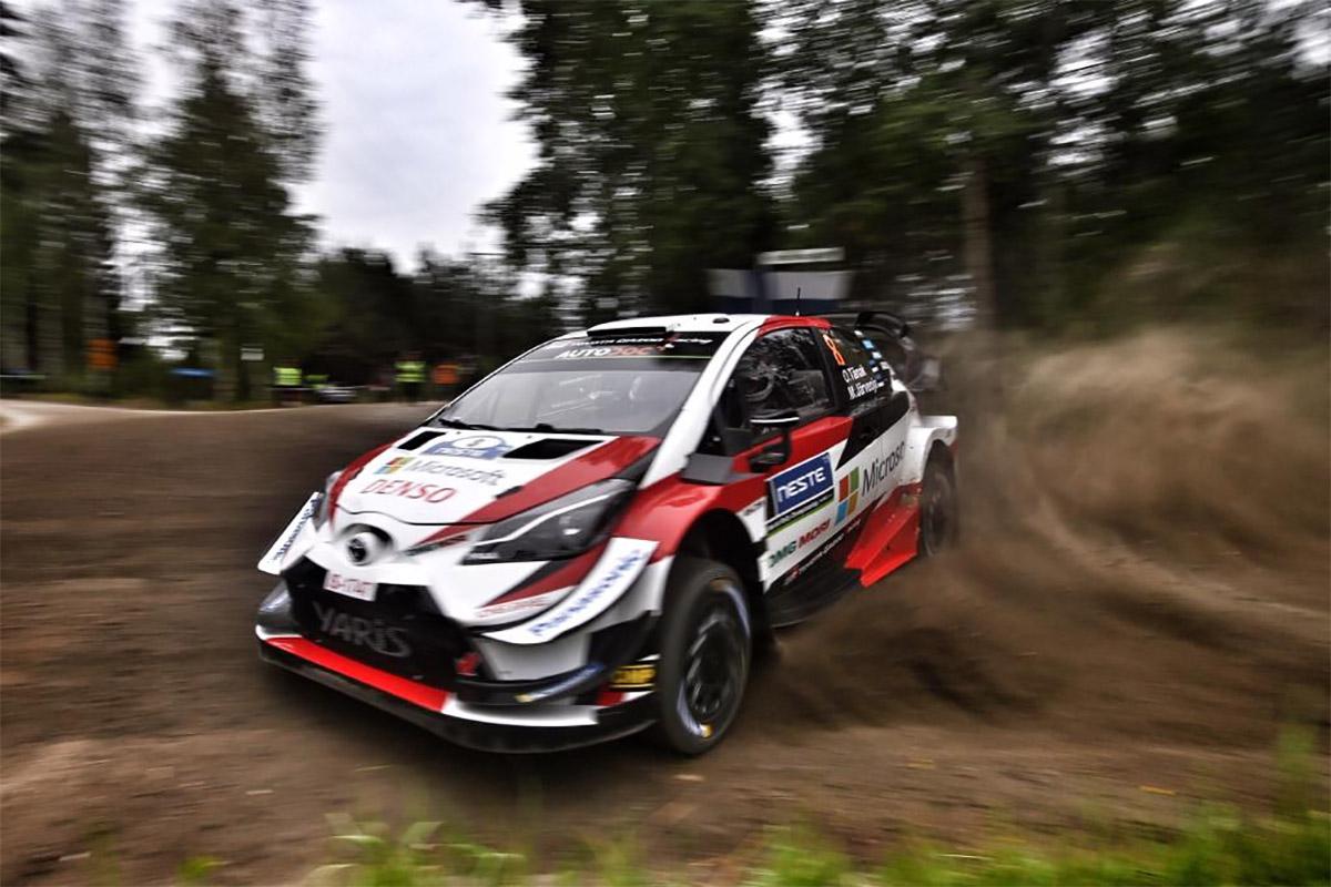 Tänak näitas Soome ralli testikatsel kiireimat minekut