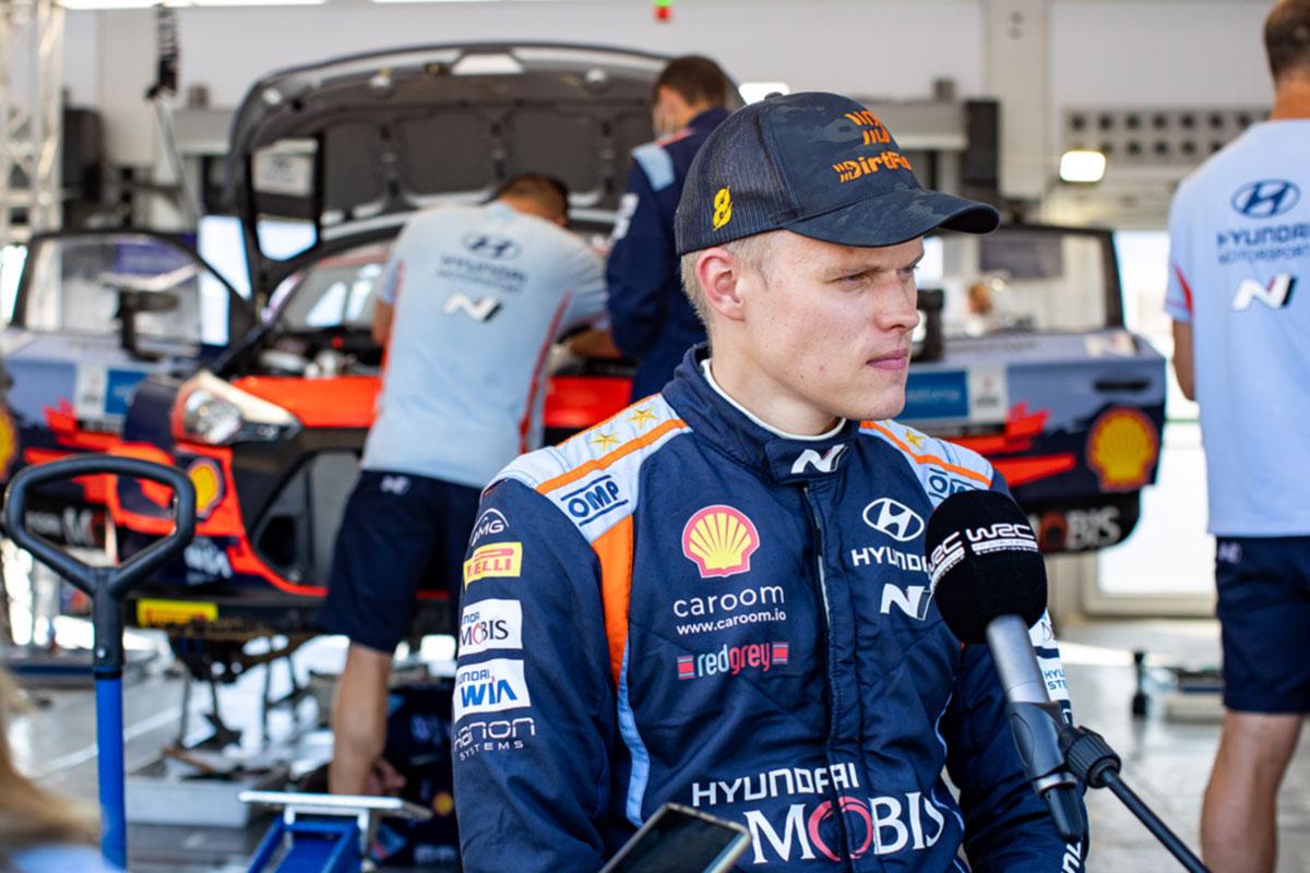 Tänak Rally Estonia testikatsel paremuselt teine