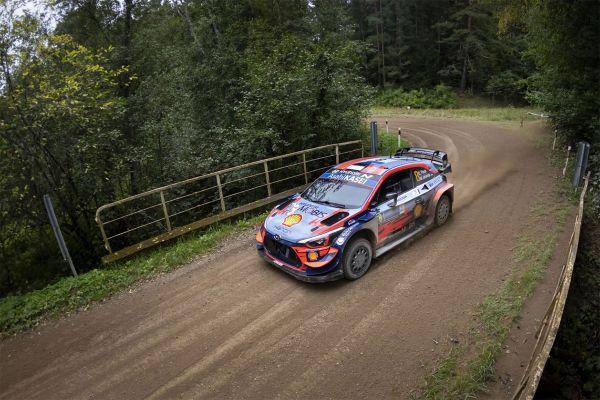 Tänak tõusis kolmandal kiiruskatsel Rally Estonia liidriks