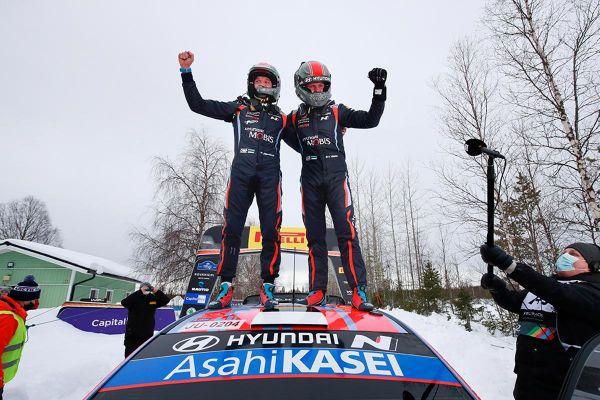 Tänak võitis Artic Rally Finlandi