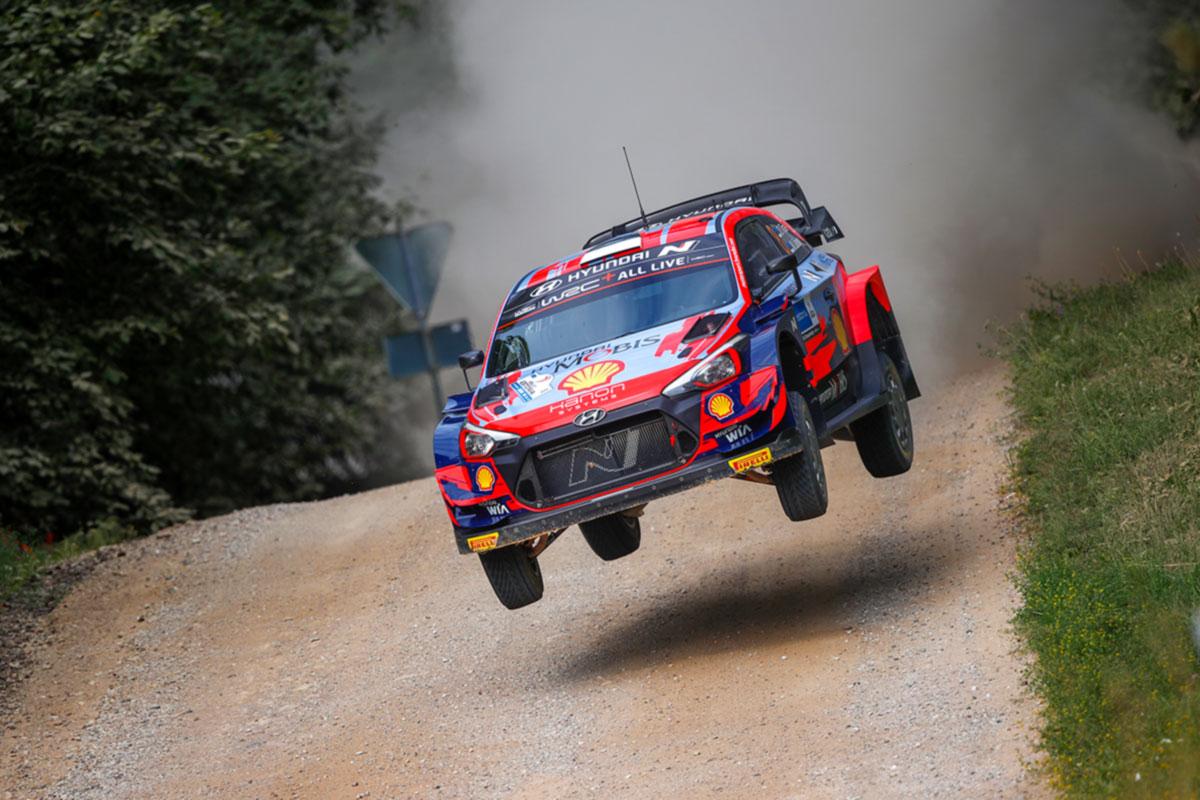 Tänak võitis Rally Estonia teise kiiruskatse ja asus rallit juhtima
