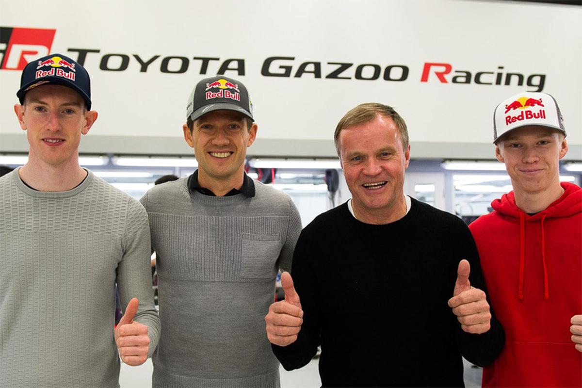 Toyota eest võistlevad 2020. hooajal Ogier, Evans ja Rovanperä