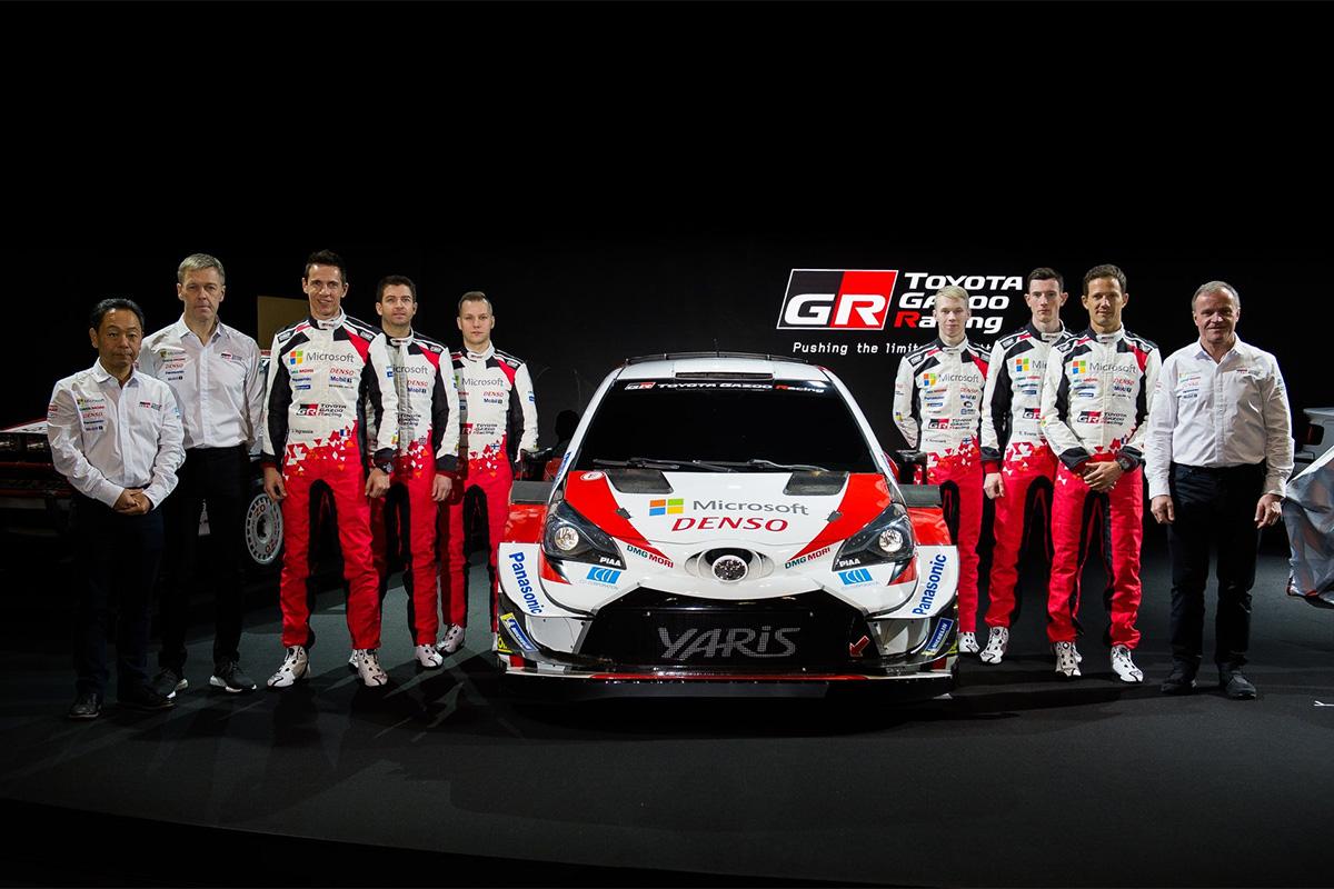 Toyota esitles oma uut WRC meeskonda (pildid)