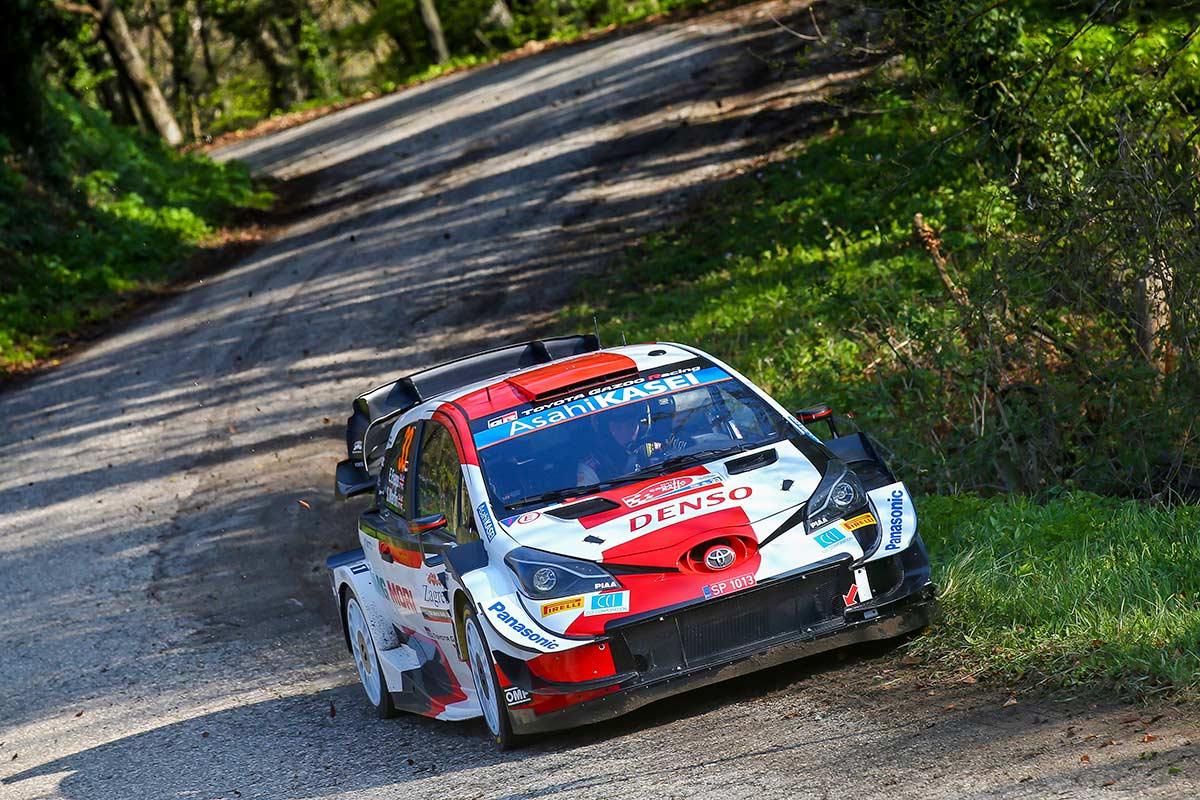 Toyotad nobedaimad kolmandal Horvaatia ralli kiiruskatsel, liider Neuville