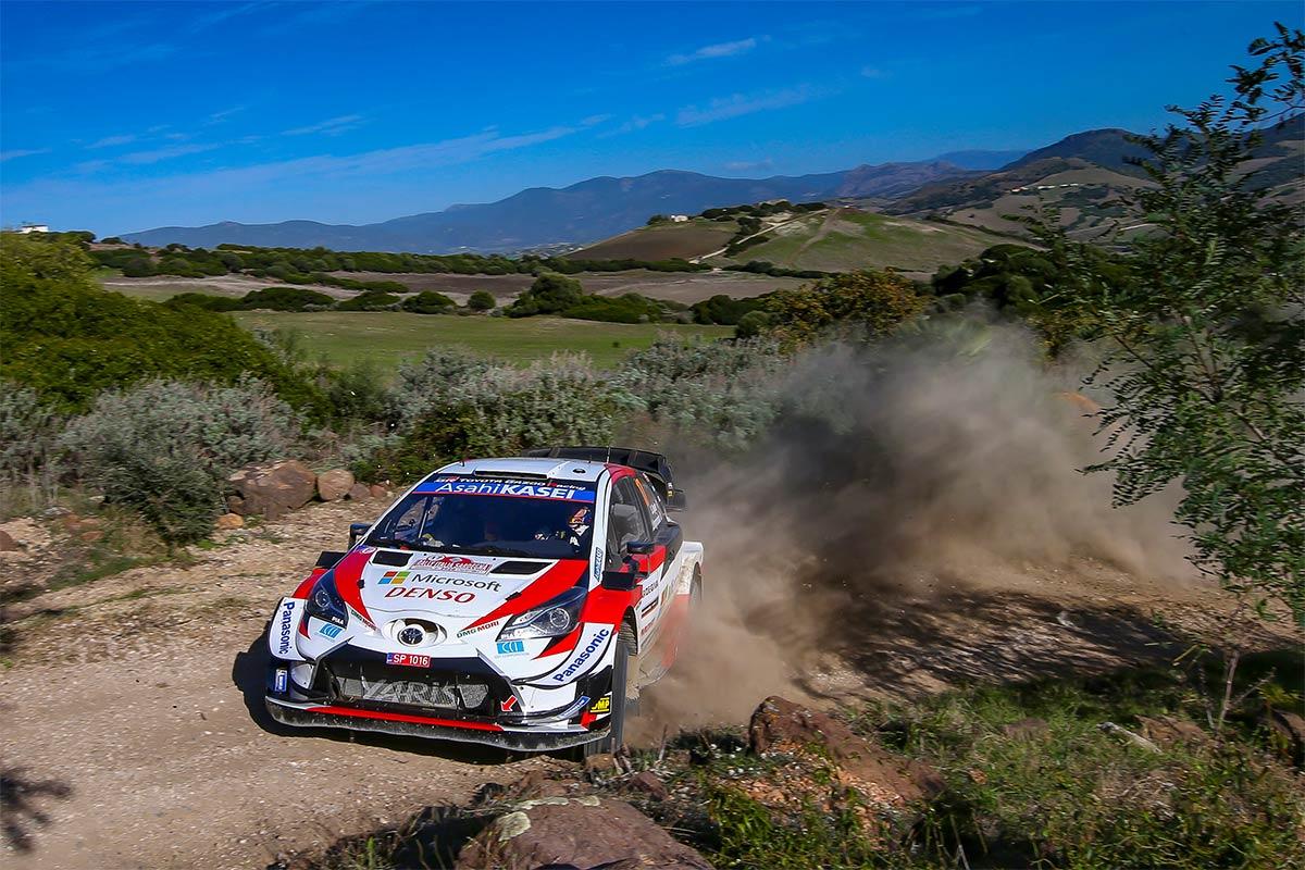 WRC Sardiinia Ralli üheksana kiiruskatse võitis Ogier, Tänak neljas