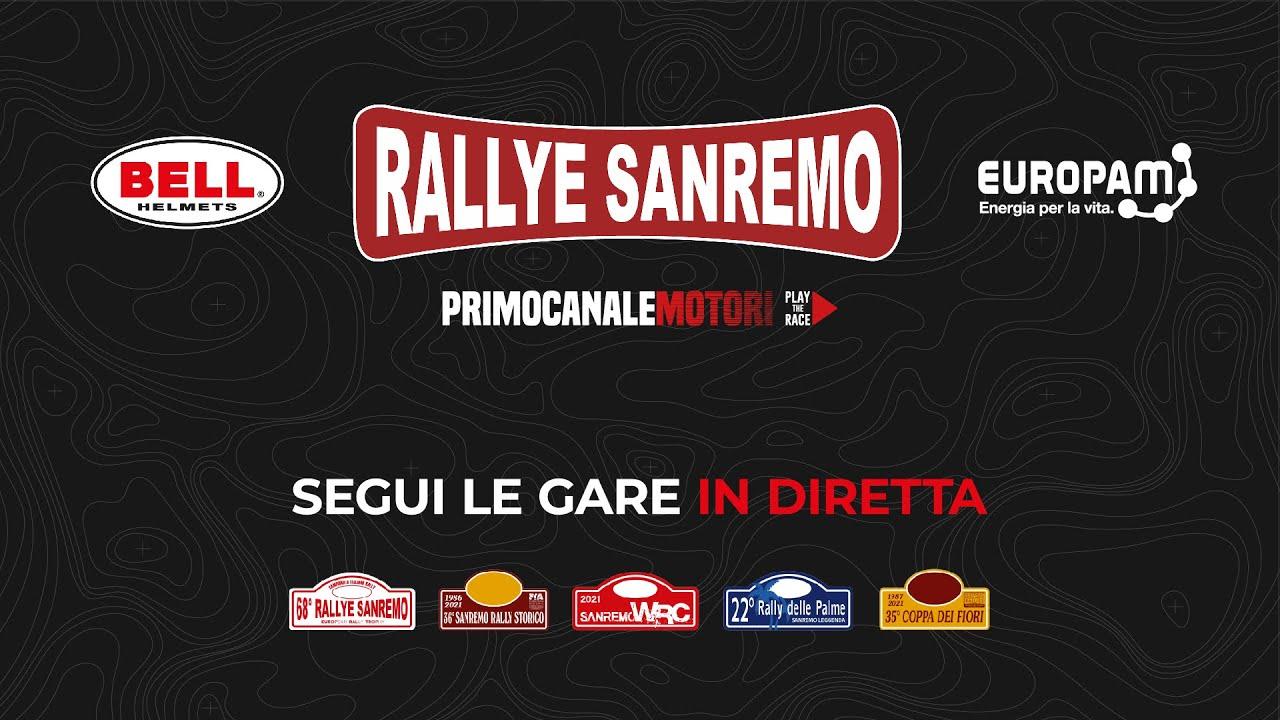 Rallye Sanremo 2021 otseülekanne, 1. võistluspäev