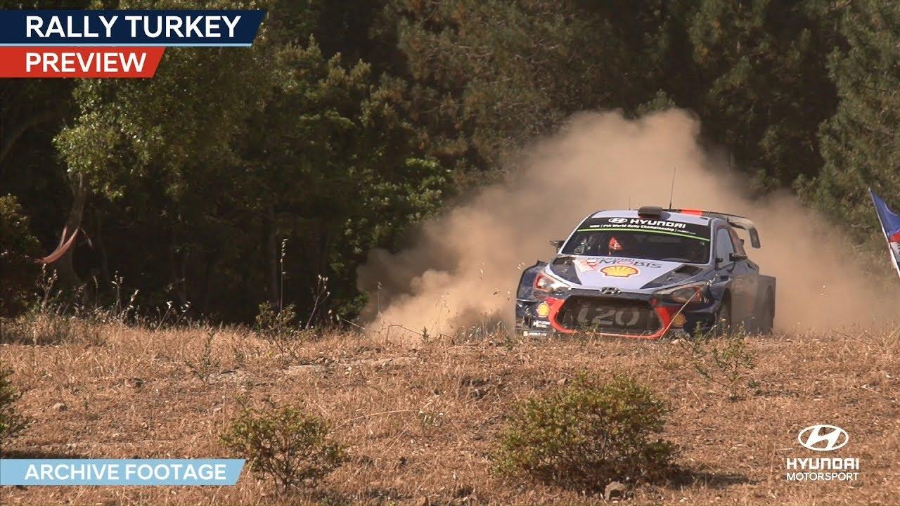 Türgi ralli 2018 - eelvaade, Hyundai Motorsport