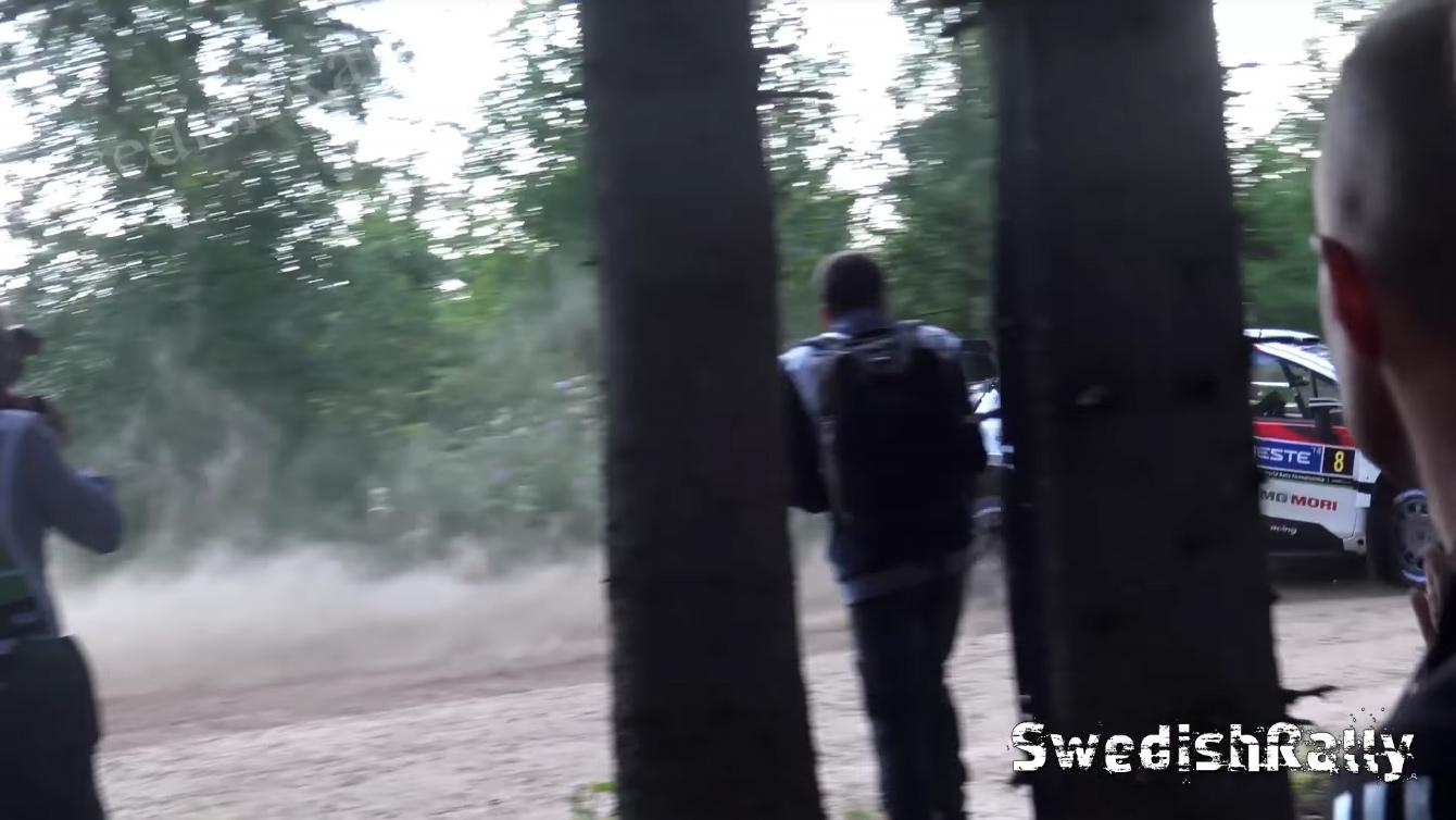 Soome ralli 2018 - testikatse, Tänaku apsakas
