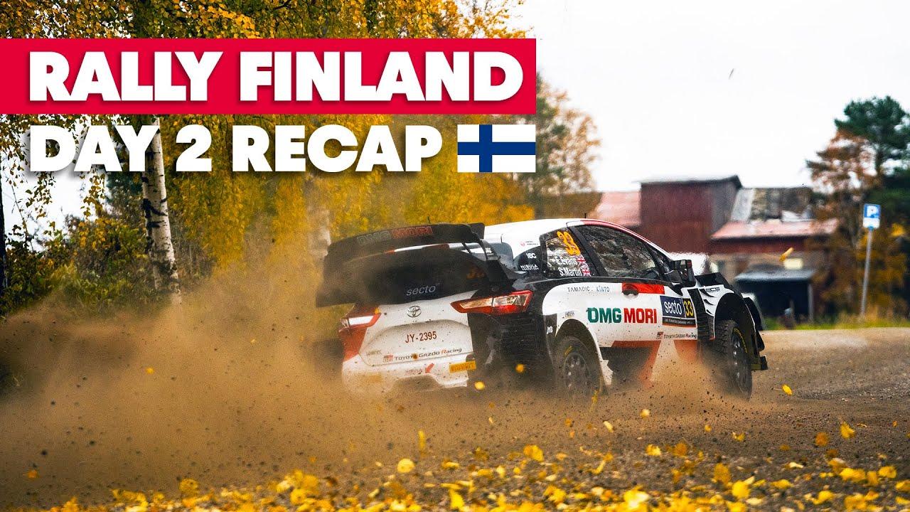 Soome ralli 2021 laupäevase võistluspäeva ülevaade, Red Bull