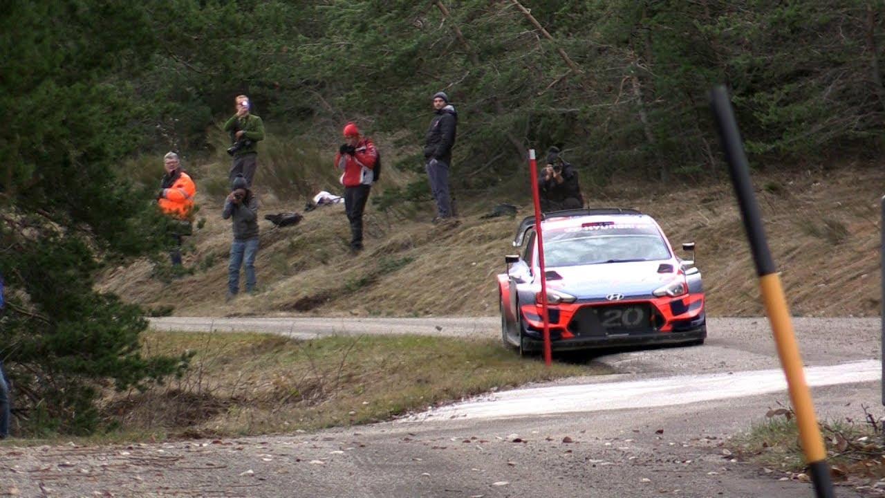 Monte Carlo ralli 2020 - rallieelne test, Tänak ja Hyundai -  Rallye Luminy13