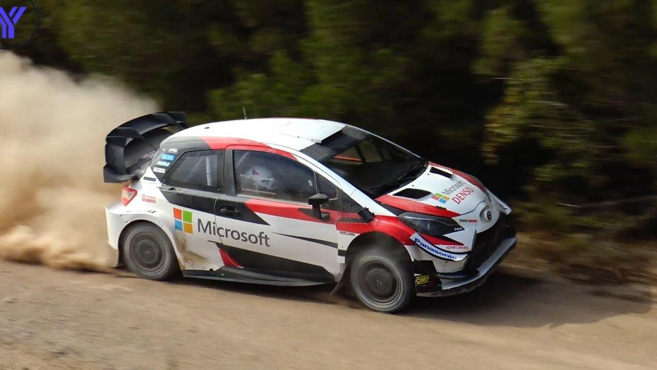 Hispaania ralli 2019 - rallieelne test, Toyota ja Tänak