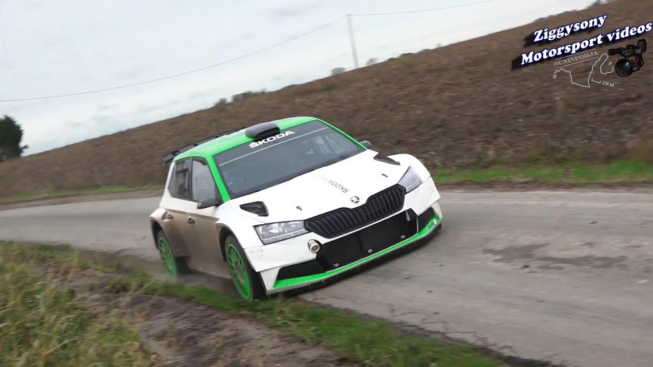 Mikkelsen ja Škoda test enne Ypres Rallyt