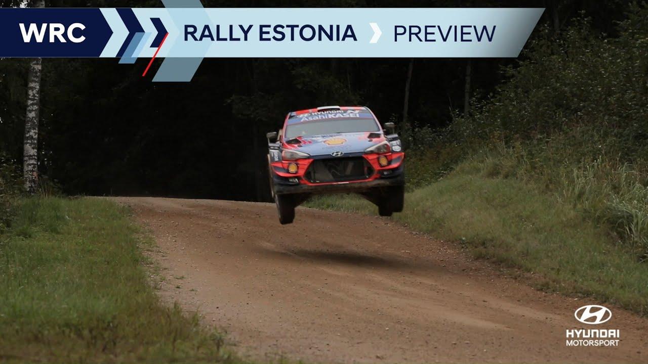 Hyundai meeskonna Rally Estonia 2021 eelvaade