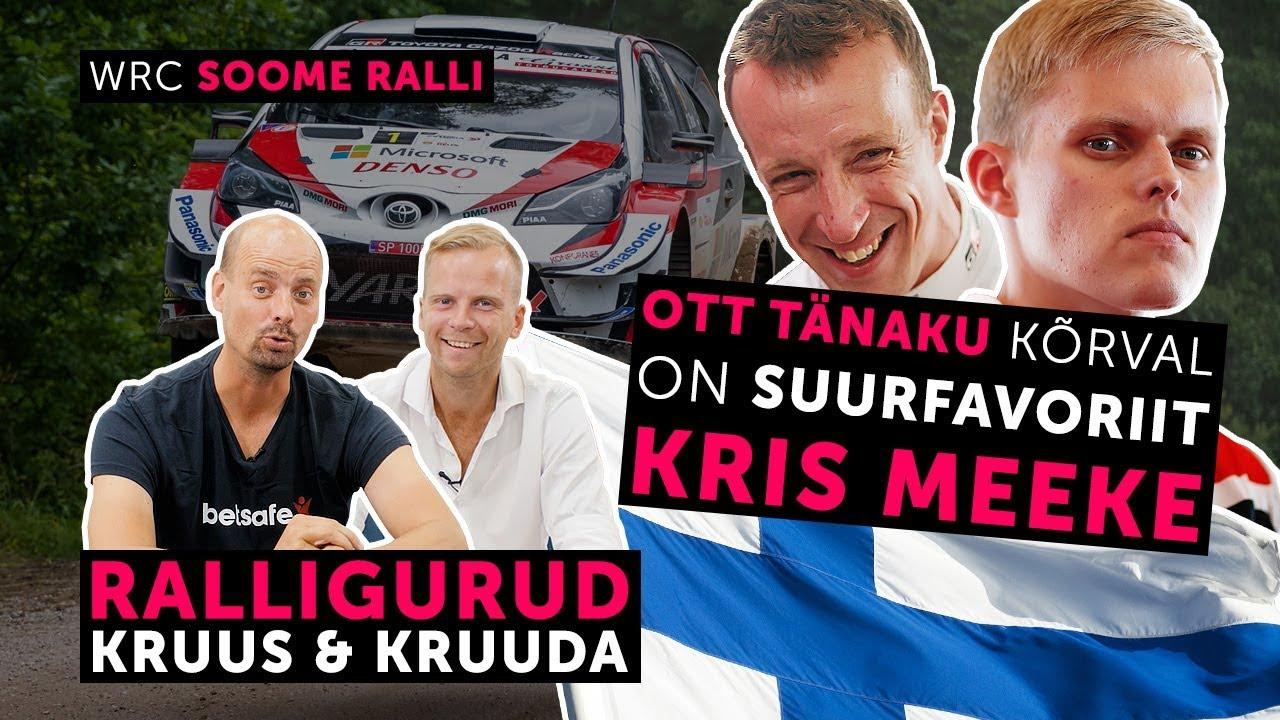 Ralligurud Kruus ja Kruuda teevad Soome ralli eelvaate