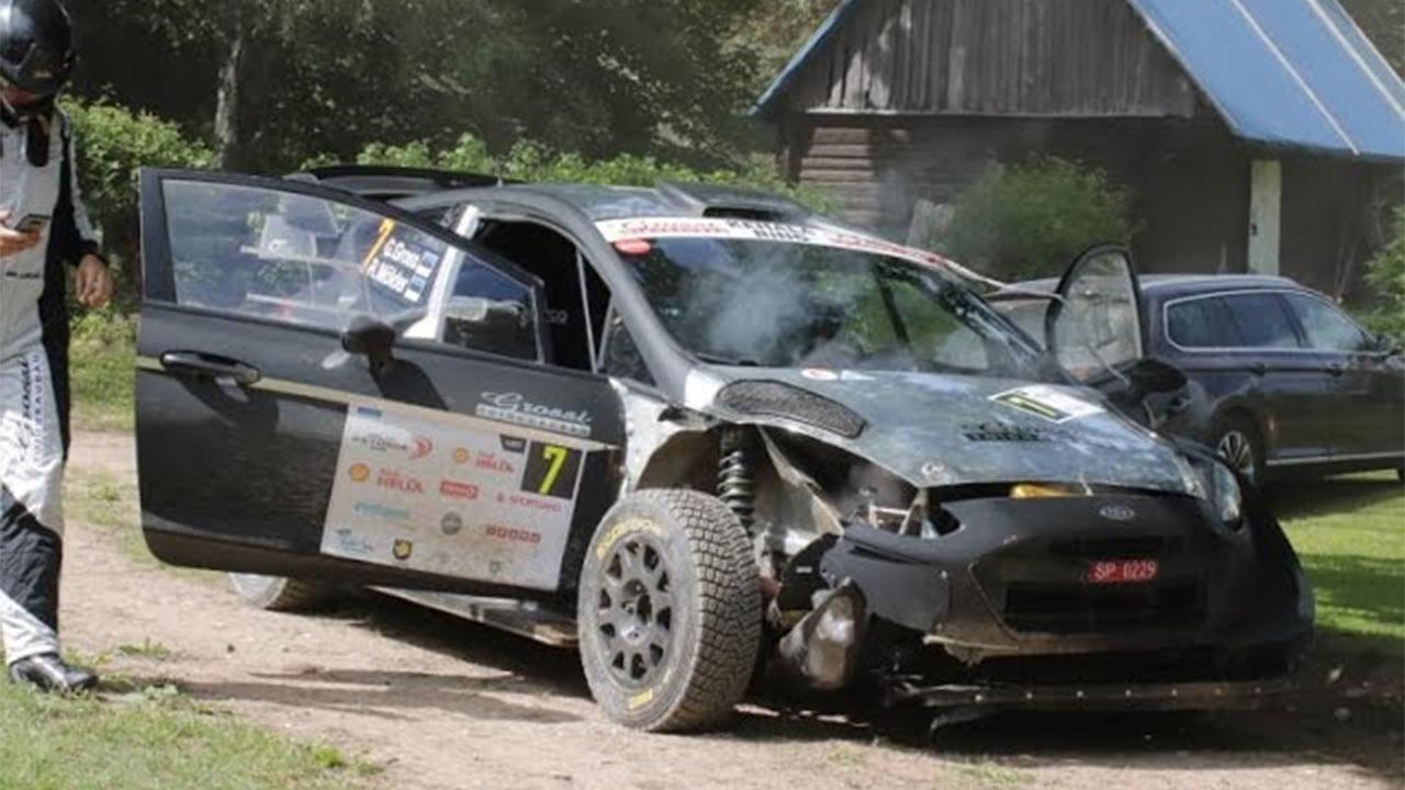 Rally Estonia suured hüpped, ebaõnnestumised ja väljasõidud