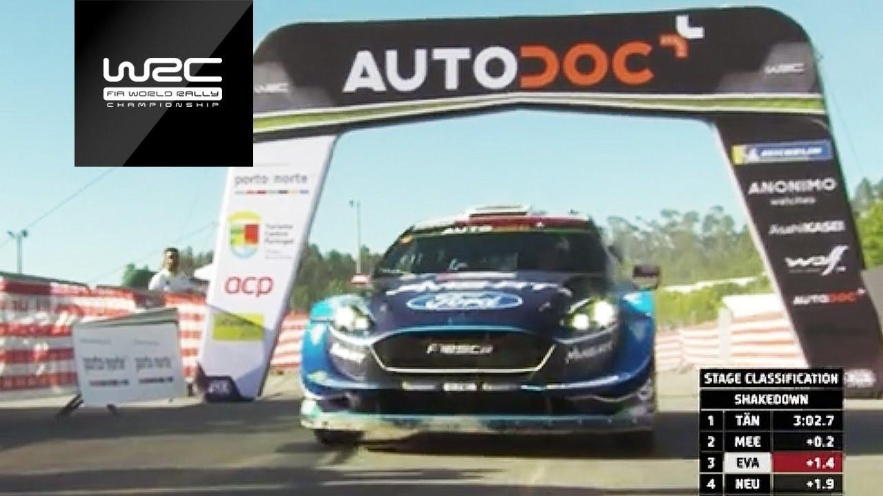 Vaata kuidas läks Ott Tänakul Portugali ralli testikatsel
