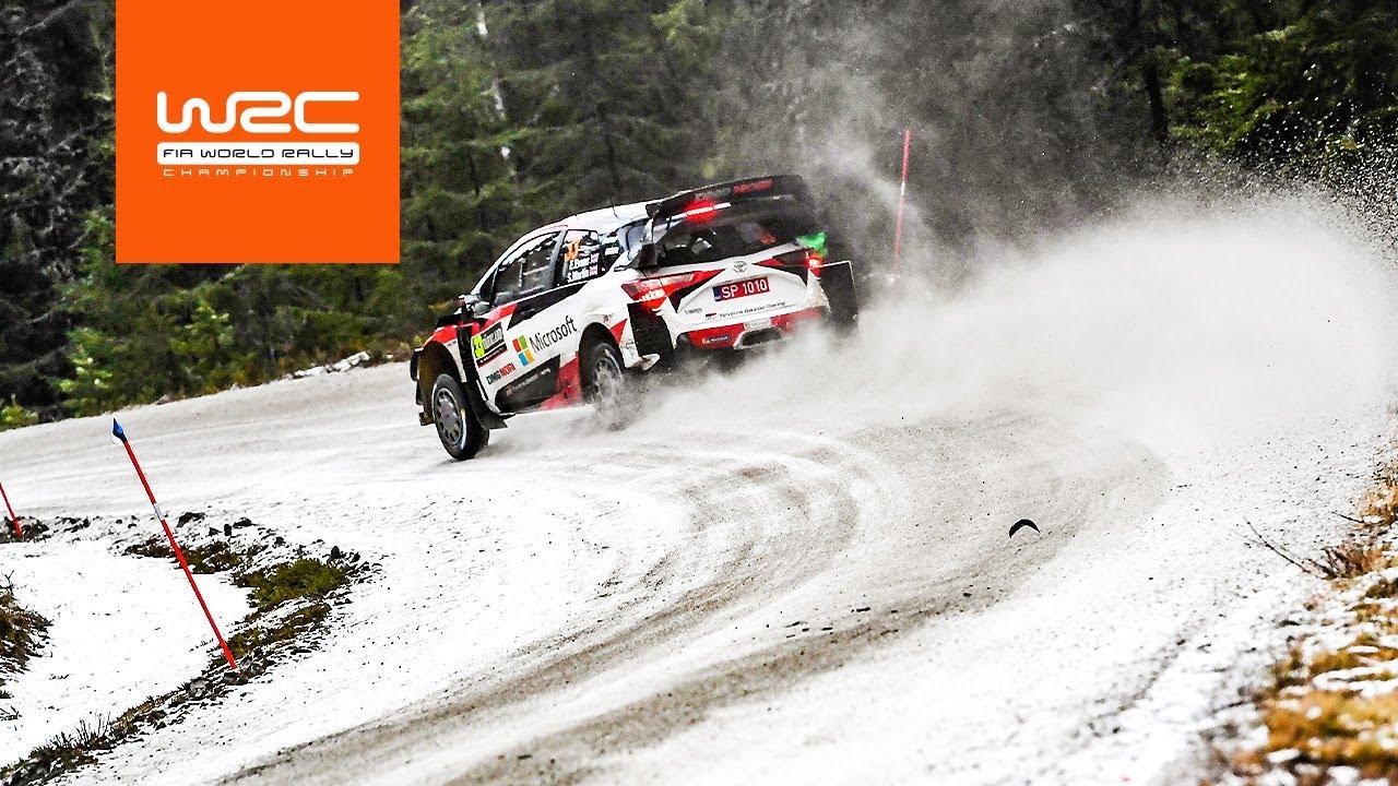 Rootsi ralli kiiruskatsete SS5 - SS7 kõrghetked, WRC