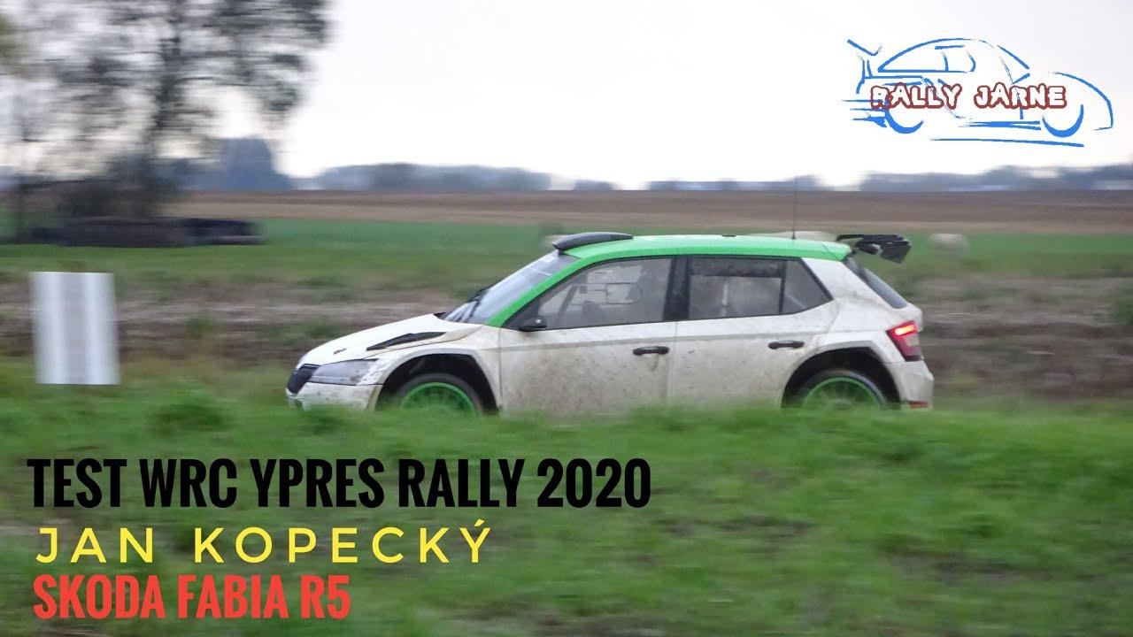Kopecký ja Skoda test enne Ypres Rallyt