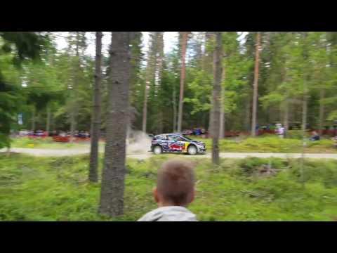 Soome ralli 2017 - SS4, Ogieri trampliinil