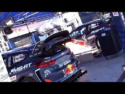 Monte Carlo ralli 2018 - hooldusala, kõik autod