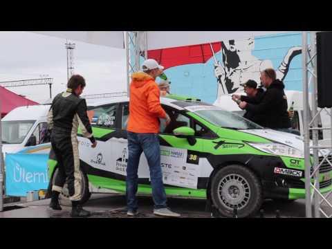 Neste Harju Rally 2017 - poodium